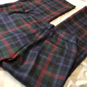 Vintage - Pants - H - Hilfiger - Tartan Plaid Wool
